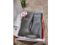 Purofort Professional Full Safety Wellingtons Farmer Wellies size 9