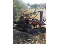 Kverneland 3 furrow 14'' plough