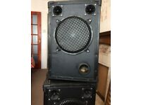 2 x 300 watt Celestion Speakers in good condition
