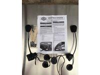 Harley Davidson Ultraglide premium stereo helmet headsets