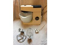 Vintage KENWOOD A701a Food Mixer Whisk + K Attachment Fully Working