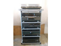 Complete Technics (full width) system with Monitor Audio speakers