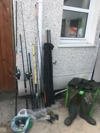 Fishing rod bundle