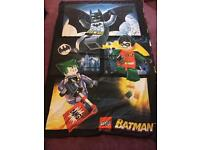 Lego batman blanket cover