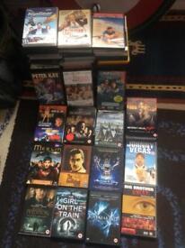 90 DVD's