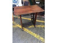 Stunning Bespoke Antique Singer Treadle Desk/ Table