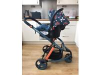 Cosatto travel system with isofix base