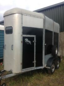Ifor Williams hunter horse trailer for sale excellent starter box in great condition