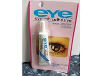Eye lash adhesive bundle