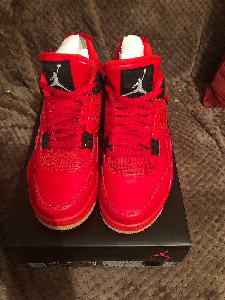 6ebc48194f929 Nike air Jordan 4 retro singles day uk5