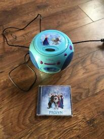 Lexibook Frozen themed CD player