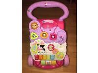Vetch Baby Music Walker Toy- 2-in-1