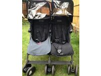 Maclaren twin techno double buggy. Unmarked as new