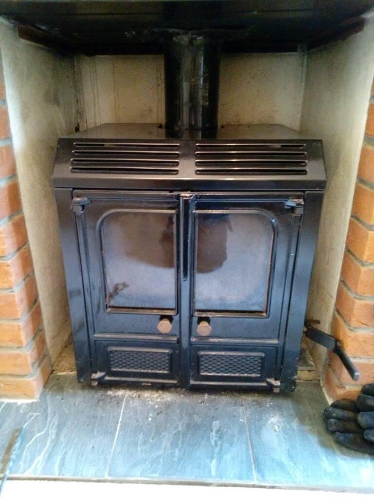 Charnwood LA 45 back boiler stove