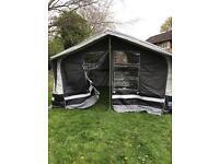 2013 sunncamp 400 6 berth trailer tent acrylic