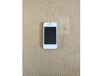 UNLOCKED iPhone 4S - white