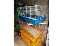 2 x indoor cages