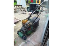 Petrol mower and strimmer150