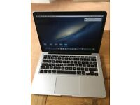 "MacBook Pro 13"" 8GB Model A1502"