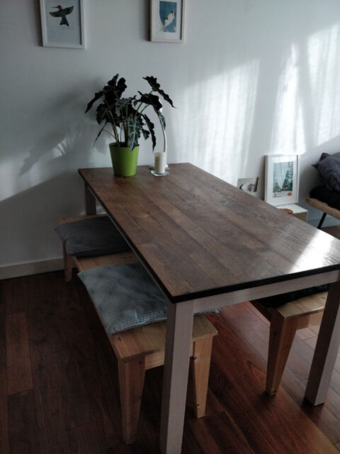 Marvelous Ikea Kejsarkrona Dining Table And Benches Oak White In Manchester City Centre Manchester Gumtree Ocoug Best Dining Table And Chair Ideas Images Ocougorg