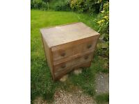 Little wooden chest of draws