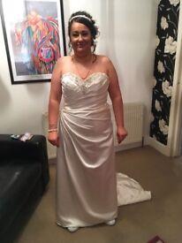 Wedding dress size 16