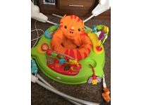 Fisher price roaring lion jumperoo £40