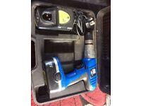 PBX 18v Cordless Drill with charger battery & case