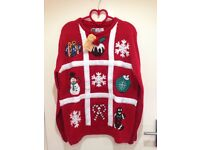 Christmas Jumpers - 3 different designs, different sizes, £10 each