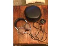 NEW Kinden wooden cupped headphones