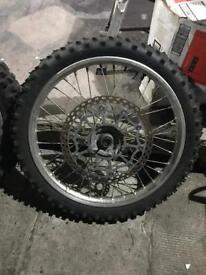 Honda xr650r wheels