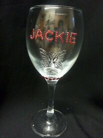 Great xmas gift wine glass
