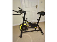 Bodymax B2 Indoor Studio Cycle Exercise Bike (Black) + LCD Monitor