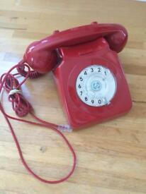 Retro fully working red phone