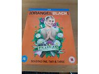 Orange Is The New Black Seasons 1 - 3 Blu Ray