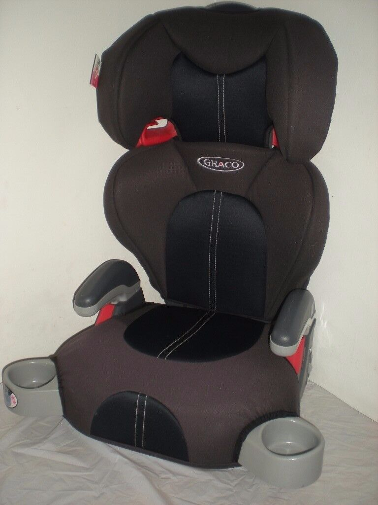 Graco Junior Maxi Group 2-3 Car Seat Midnight Black Used