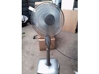 "Rowenta oscillating fan - Floor Stand - 3 speed - 16"" - very quiet"