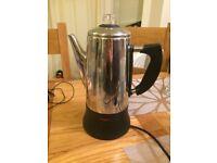 Coffee percolator electric machine