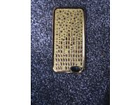 iphone case in gold colour