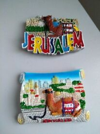 Brand New Fridge Magnets straight from Jerusalem
