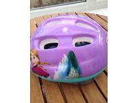 Frozen girls Cycle Helmet