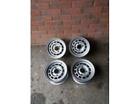 classic 10 inch alloy wheels will fit mini reliant etc
