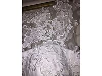 White wedding dress size 8-10
