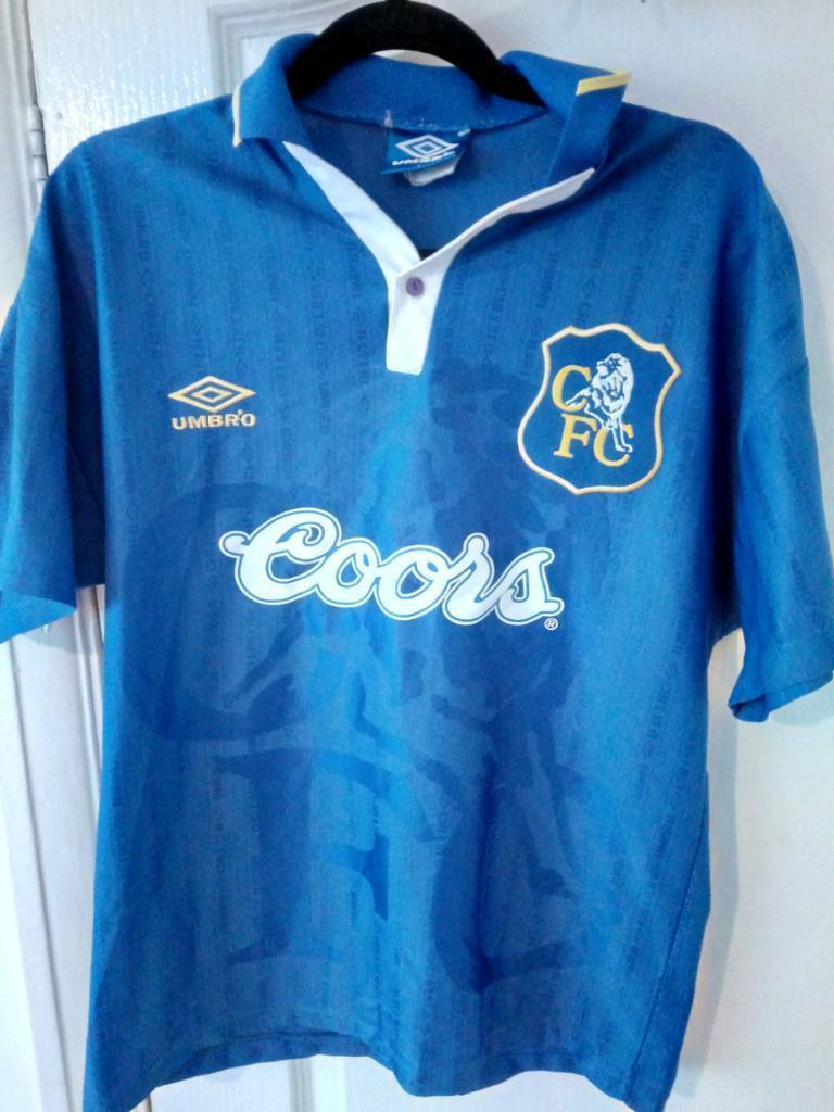 promo code 4f6bd 3d286 Chelsea Coors M size UMBRO Home T-Shirt 1995-1996 Season | in West End,  London | Gumtree