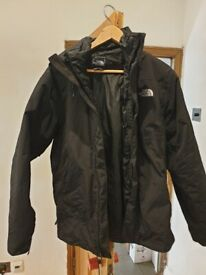 North Face triclimate 3-in-1 jacket (men's medium)