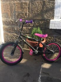 Girls tinker bell bike