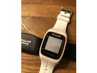 Polar M400 sport watch and heartbeat tracker