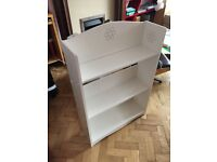 Bookcase White with flower motif from Next. Very well built