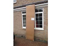 BRAND NEW - Tongue & Groove Kitchen Cupboard End Panel, Milbourne Alabaster