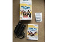 WE SING ENCORE (Wii) – complete with two microphones - £15.00